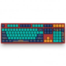 3108 V2 World Tour Beijing 108 Keys Cherry Switch USB 2.0 Type-C Wired Mechanical Gaming Keyboard