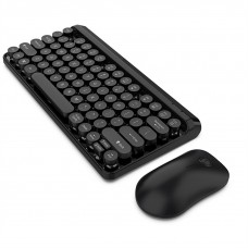 L100 2.4GHz Ultrathin Wireless Keyboard Mouse Set (Black)