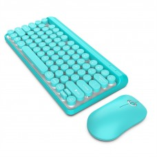 L100 2.4GHz Ultrathin Wireless Keyboard Mouse Set (Blue)