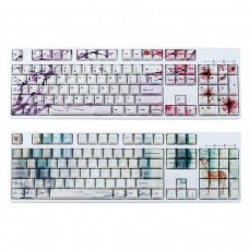 108 Keys Five PBT Thermal Sublimation Keycap for Mechanical Gaming Keyboard