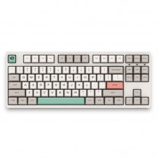 3087 9009 Retro 87 Keys USB 2.0 Type-C Wired Cherry Switch PBT Keycaps Mechanical Gaming Keyboard