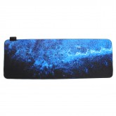 The Milky Way USB Wired 6 RGB Colorful 7 Monochrome Lights LED Mouse Pad for Gaming Mouse E-Sport