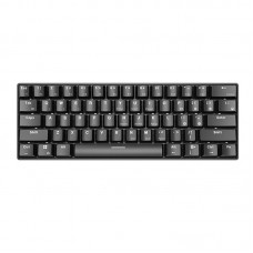 i610T 61 Keys NKRO Dual Mode USB Wired bluetooth 3.0 Wireless 17 Monochrome Backlight Mechanical Gaming Keyboard